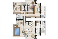 Apartamento novo à venda no Greenville Atmos