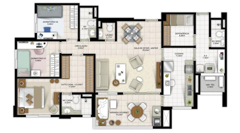 Apartamento Novo A Venda No Greenville Atmos 11