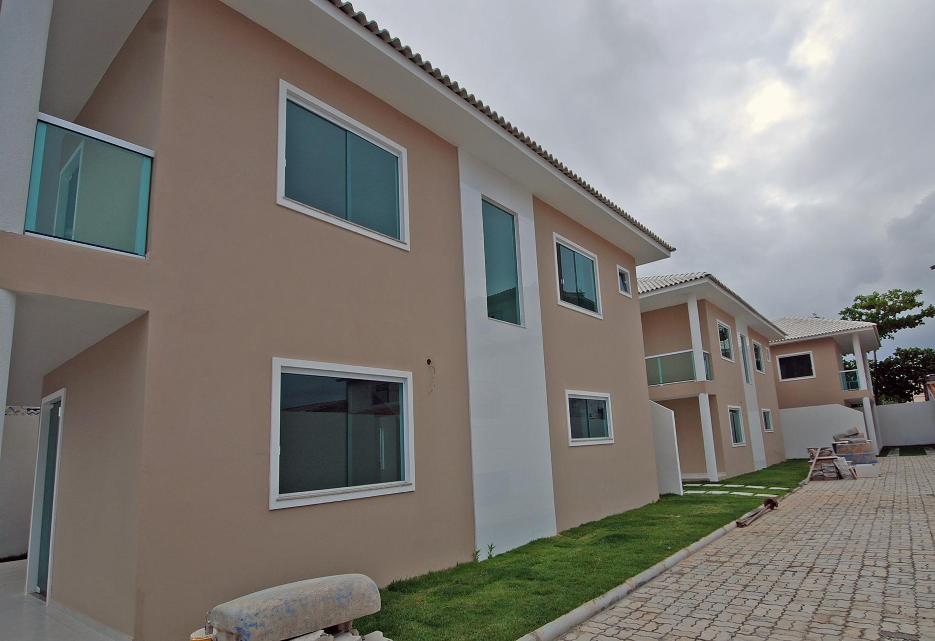 Casa moderna e nova venda no miragem hansen im veis for Casas modernas brasil