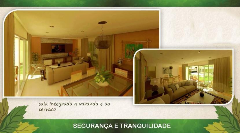 Casas de 4 suites à venda em Buraquinho-4