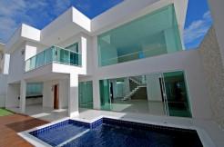 Casa elegante a venda Alphaville Litoral Norte