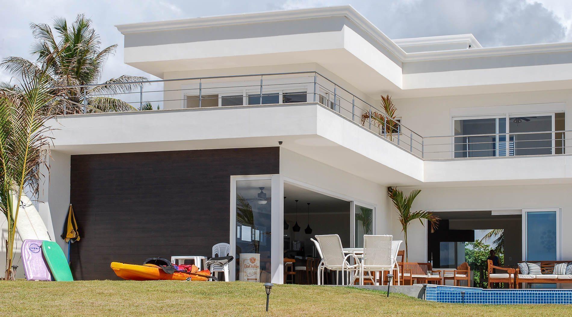 Casa frente ao mar a venda barra de jacu pe hansen im veis for Barras para casa