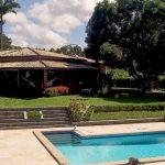 Bonita casa na lagoa Encontro das Águas vídeo 4K