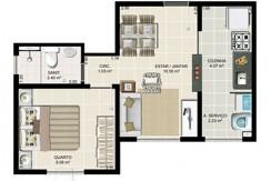 Apartamento Novo A Venda No Caji 11
