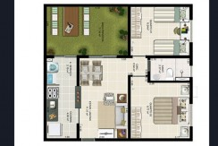 Apartamento Novo A Venda No Caji 6