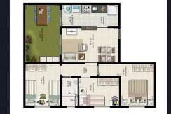 Apartamento Novo A Venda No Caji 7