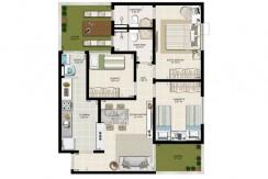 Apartamento novo à venda no Centro de Lauro-12