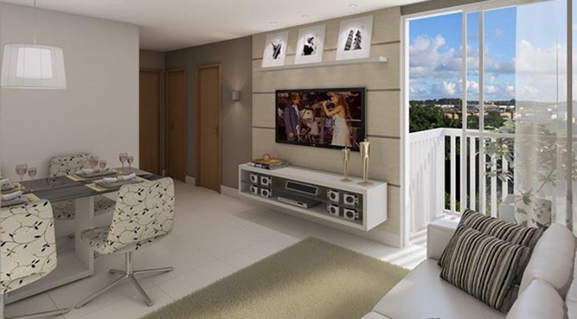 Apartamento novo à venda no Centro de Lauro-2