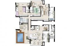 Apartamento Novo A Venda No Greenville Atmos 1