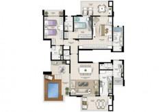 Apartamento Novo A Venda No Greenville Atmos 33