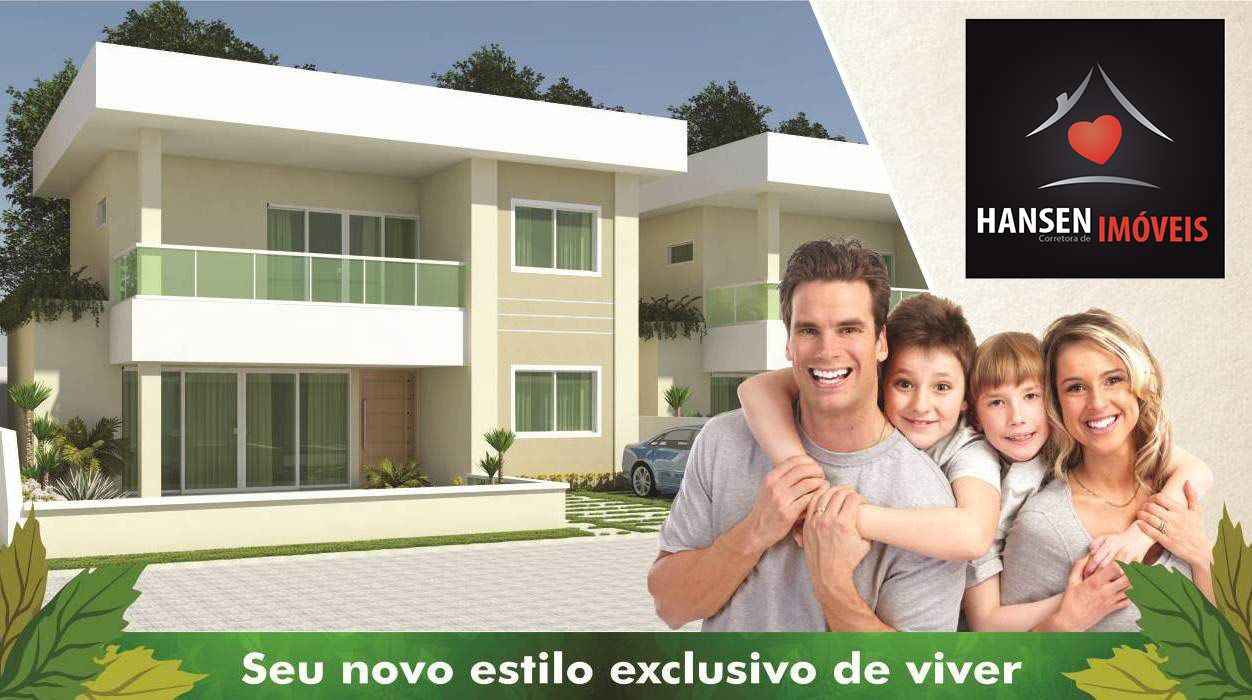 Houses with 4 suites for sale in Buraquinho – Lauro de Freitas