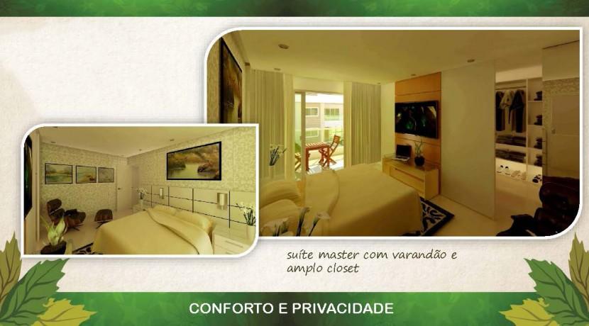 Casas de 4 suites à venda em Buraquinho-5