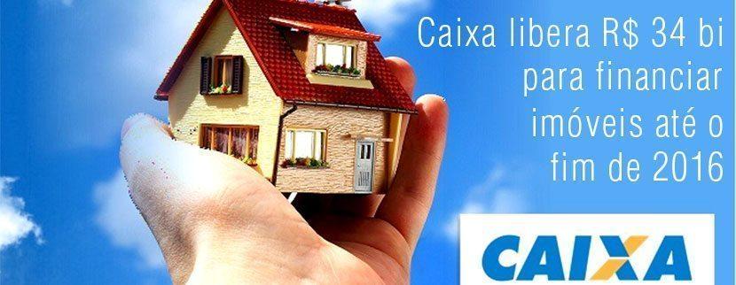 Caixa rilascia R$ 34 miliardi per finanziare le proprietà nel 2016