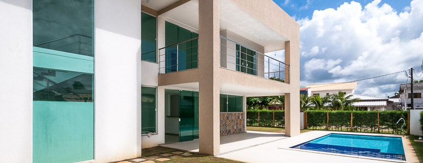 New luxury home close to the beach of Guarajuba vídeo 4K
