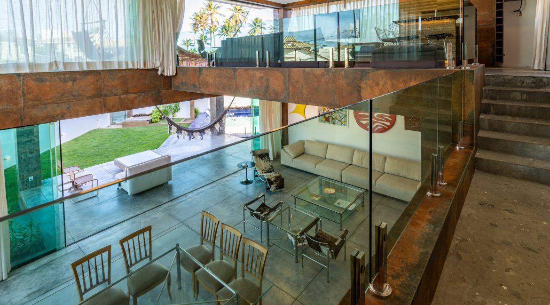 Casa de luxo mobiliada a venda perto da praia de Vilas Atlântico