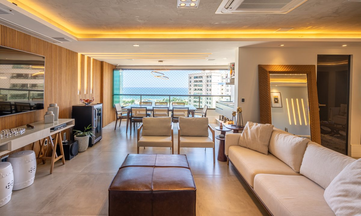 Apartamento de luxo com vista mar a venda Patamares