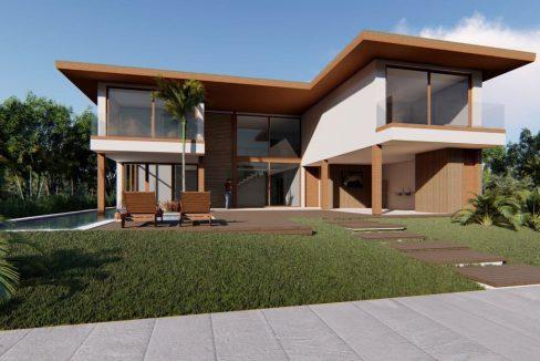 Casa moderna 100 m da praia a venda Guarajuba